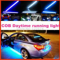 2pcs/1pair Back Reverse Parking light LED Car lights DRL 6w COB Daytime running Lamp light Driving Fog lights free shipping