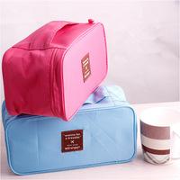 Free shipping! Wholesale high quality travel storage bag, waterproof bras, underwear storage bag, wash bag