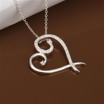 N385 925 серебро ювелирные изделия ожерелье, Ювелирные изделия ожерелье ювелирные изделия Necklace2014