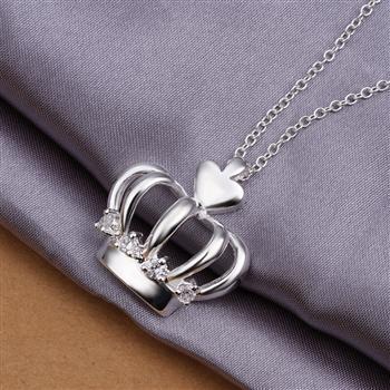 N356 925 серебро ювелирные изделия ожерелье, Ювелирные изделия ожерелье ювелирные изделия Necklace2014