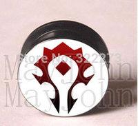 [Min. Order $20]Popular designs acrylic screw Plug Tunnel Ear Plug Flesh Tunnel Tunnel Gauges body jewelry  MJEPG39017