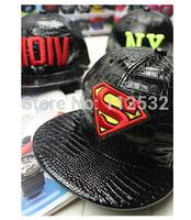 Korean street fashion letter leather  hip hip-hop cap baseball cap  for men and women,couple casual caps