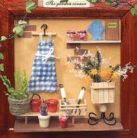 13615 Garden corner diy photo frame stall supply wholesale zakka grocery wooden crafts hut