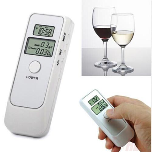 Dual Digital LCD Blood Alcohol Breath Tester Analyzer Breathalyzer Detector Test(China (Mainland))