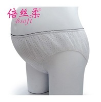 Gold medal maternity disposable paper panties antenatal postpartum 100% 18 female cotton breathable