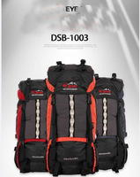 2014 New 80L camping backpack mountaineering bag outdoor travel bag aluminum system double shoulder bag