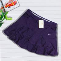 Female belt tennis ball dress underpants A - shaped type pleated tennis bottoms short skirt