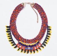 N1201 NEW 2014 Z design chocker collar Unique costume  necklace & pendant chocker collar necklace for women jewelry wholesale