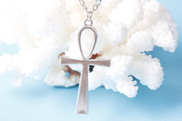 Wholesale~-Cross Necklace,antique silver cross charm Necklace,blessed lover gift,bridesmaid necklace, christmas gift
