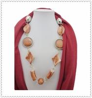 Professional Custom Bead Loop Silk Scarves Factory
