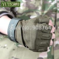 Outdoor Sports  Black Hawk half gloves exercise tactical gloves men's outdoor fans sunscreen antiskid riding soldier