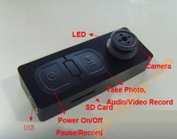 EMS DHL Free shipping Button Camera  with retail box ,with 200pcs/lot