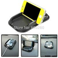 2014 New Black Car Dashboard Sticky Pad Mat Anti Non Slip Gadget Mobile Phone GPS Holder Interior Item Accessories