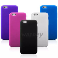 Gel Silicone Rubber TPU Mobile Phone Case Cover FOR Iphone 6 *1000pcs/lot