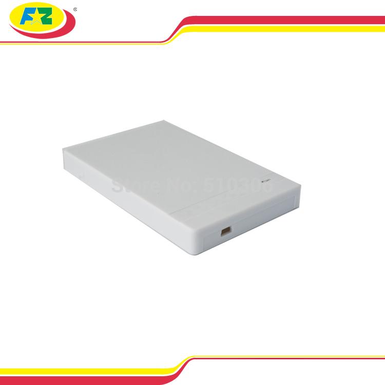 """2.5"""" USB 2.0 Plastic HDD Caddy Case SATA External Hard Drive HD Enclosure Box 1TB Free Shipping 2525(China (Mainland))"""