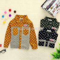 Newest fashion Boy's seamed Long sleeved shirt,S,M,L,XL,1pcs/lot,Free shipping