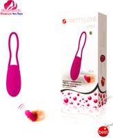 Pretty Love Dia:34mm L:160mm silicone USD Recharging 7-Vibration egg vibrator bullet sexual products sex vibrators for women