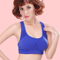 brand fashion seamless sexy women ventilate Sports Bras full cup  bras new style bra