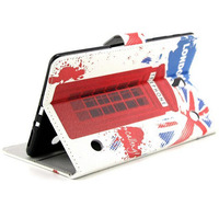 British London Vintage style For Samsung Galaxy Tab S 8.4 T700 T705 PU Leather Flip Cover Case With Stand Card Money Slot