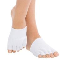 Free Shipping 500 pairs/lot Moisturing Toes Socks/Spa Gel Toe Socks Foot Care Skin Protector Socks