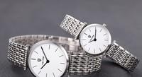 Delicate Fashion Lovers Ultra-thin Full Steel Dress Wristwatch Japan Quartz 2 Hands Analog Clock 30M Waterproof Relojes NW1020