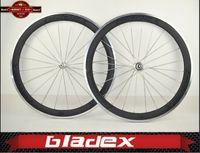 BladeX PRO ROAD CARBON WHEELSET 450C-AL- 50mm Clincher Carbon Wheels; Ceramic Bearings;; Bicycle Wheel