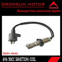 Iron Head Ignition Coil for Chinese GY6 50CC 125CC 150CC Motor Scooters, ATV, Taotao, Roketa. Peace, Yiben, Nst