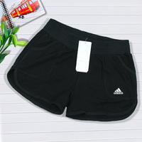 Women's 100% cotton sports shorts tennis ball shorts tennis bottoms sports shorts tennis ball belt pants
