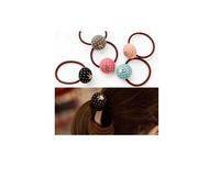 Korean hair accessories wholesale candy sweet cloth bunny hair band Polka Dot Tousheng