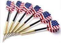 Brass-toned dart needle batarangs set balloon batarangs