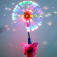 hot selling novelty hot sale Flash light music/children's toys wholesale /fish windmill in the little magic fairy windmills bar