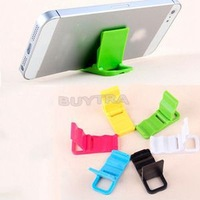 Hot Selling 1pcs Universal Cute Cell phone Stand Portable Mini Cell Phone Movie Stand holderfor iPhone samsung For Sale