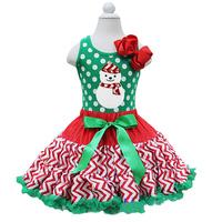 zhejiang factory girls red chevron pettiskirt qualified satin vintage classic original designer childrens christms tutu skirt