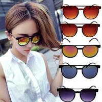 Vintage women's sunglasses , tea color sun glasses , eye wear , 5 colors can choose  wrap glasses