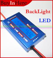 Digital DC LCD 60V/100A 0.01 Accuracy Rc LIPO Battery Balance Voltage Power Analyzer Watt Meter Current Checker Amp Tester