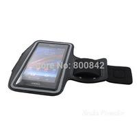 New Neoprene Sport Running Armband Case Cover for Sony Xperia Z1 C6903 Black