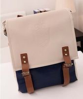 New 2014 Japanese Style High quality Casual Women Vintage college Backpack Girl Lady Student School bag Travel bag Free shipping