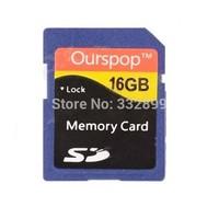 Ourspop DM-24 SD Memory Card - Blue (16GB / Class 6)