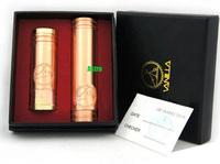 Red Copper Vanilla Mechanical Mod Vanilla Mod Clone for 510 Thread Clearomizer E Cigarette Mod Drop Shipping