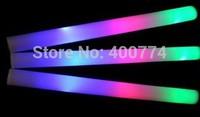 LED Colorful rods led foam stick flashing foam stick, light cheering party glow foam stick foam wand