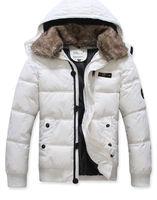 Free shipping men down coat Men's coat Winter overcoat Outwear Winter jacket hooded thick fur jackets outdoor
