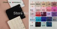 Free Shipping+Wholesale Bra Extenders Strap Extension 4 Hooks 24 Colors,1500pcs/lot