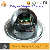 1/3Sony EFFIO-E 700TVL 130degree fisheyes CCTV analog panoramic Camera with bracket