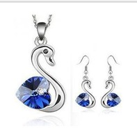 Austrian Crystal - Love Little Swan Jewelry Sets