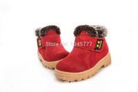 2014 Super warm  New boy and girl  warm boot Outdoor snow boot warm shoes for girl snow boot for kid's free of shipping