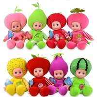 Genuine fruit doll music doll toy doll cute gift intelligent talking Barbie