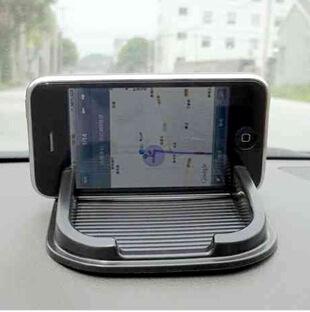 Black Car Dashboard Sticky Pad Mat Anti Non Slip Gadget Mobile Phone GPS Holder Interior Items Accessories(China (Mainland))