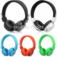Portable Wireless Headband Headphone Earphones Headset Handsfree Sport mp3 Player Surpport SD/TF Card FM Radio 20pcs/Lot DHL EMS