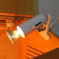 UVB UVA heat Heating Ceramic Lampshade E27 Lamp Holder for Reptiles / Tortoise / Lizard with switch