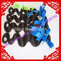 Best Quality 100 human hair Brazilian  Virgin Hair 100g / Piece 4 Pieces/Lot mixed length  Free Shipping